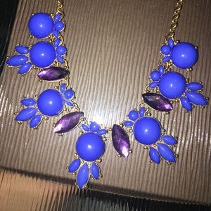 Jewelry - Blue and purple necklace